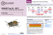 The Ten Most Critical Web Application Security Risks
